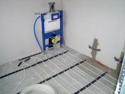 Opbygning af gulvvarme i beton